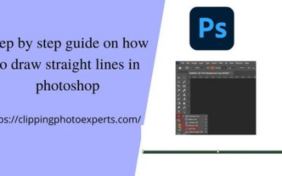 how to draw straight lines in photoshop